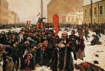 Les principales causes de la révolution de 1905