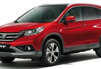 Przegląd nowego modelu Honda CR-V 2013