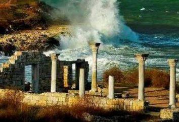 Cap Hersones (Sébastopol, la Crimée)