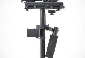 O estabilizador para a câmera: design, propósito