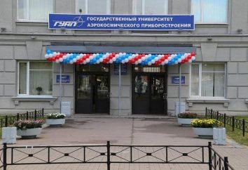 University of Aerospace Instrumentation, Petersburg: wydziały i specjalności, recenzje