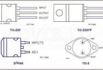 Stabilisateur de courant réglable LM317