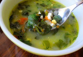 Comment faire cuire la soupe verte à l'oseille