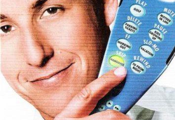 """""""Click: Con el control remoto para la vida."""" Actores, papeles, y la comedia ligera significado filosófico y psicológico"""