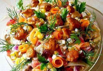Salade rouge – variété lumineuse