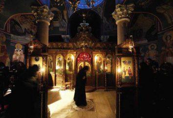 O que de domingo a oração lida no serviço do templo e em casa?