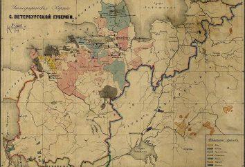 reforma Provincial em 1775. reforma Provincial de Catherine 2