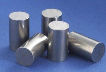 Campo di applicazione e le proprietà della formula Tungsten