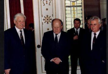Umowa Belovezhskoe w 1991 roku. Umowa Białowieża sprawie eliminowania ZSRR i utworzeniu WNP