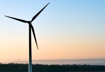 Turbinas eólicas com um eixo de rotação vertical. Vantagens, desvantagens e condições operacionais