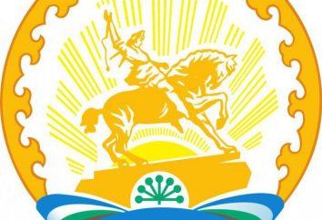 O brasão de Bashkortostan. Descrição e significado dos símbolos