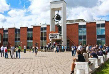 Narodowy Uniwersytet Badania Miet: wydziały i specjalności