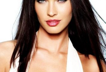 Megan Fox: altura, peso, a atriz de Hollywood. Que parâmetros a figura Megan Fox?