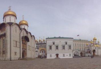 Câmaras zaristas do Kremlin de Moscou no século XVII. Qual era a vida real: uma foto e uma descrição das câmaras Romanov