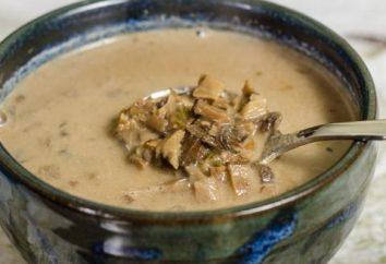 zuppa di funghi deliziosa e nutriente a base di funghi secchi: la ricetta