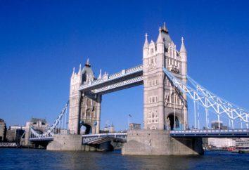 Tower Bridge – Londres porte et la décoration principale de la ville