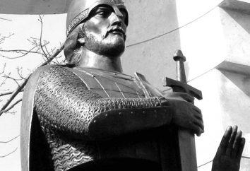 O famoso Alexander Nevsky? As principais indicações da actividade do príncipe
