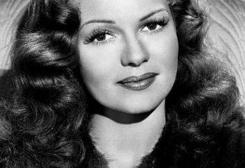 Hollywood aktorka Rita Hayworth: biografia i najlepsze filmy