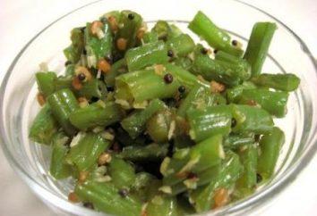 feijão verde: a preparação de pratos saborosos