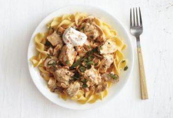Estrogonofe e peito de frango filé: algumas receitas interessantes