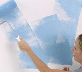 les murs auto-peinture