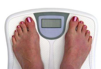 Cálculo de peso de corpo, várias técnicas