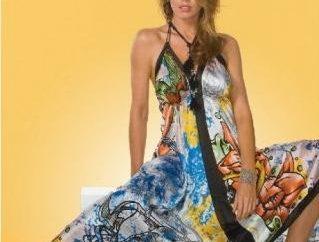 Sukienki z chusty z rękami – stylowe i oryginalne
