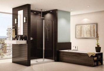 Duschabtrennung: Typen und Eigenschaften