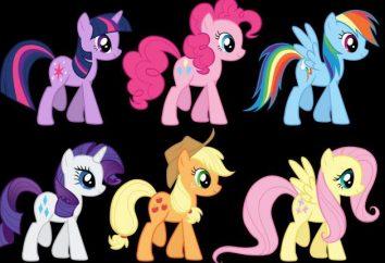 """Wie """"May Little Pony"""" ziehen? Betrachten wir ein paar Möglichkeiten,"""