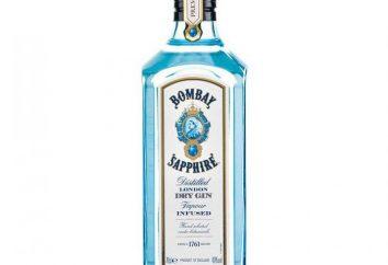 """Gin Bombay Sapphire """""""": opis, skład i opinie"""