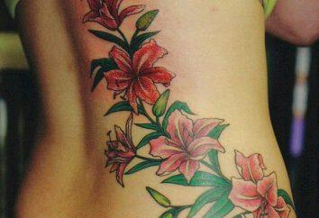 Tattoo-Blume und seine Bedeutung