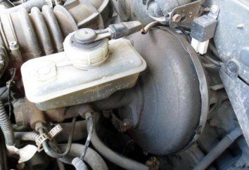 Remplacement du maître-cylindre VAZ-2110. cylindre de frein principal Kit