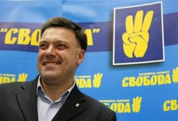 """Partia """"Swoboda"""", a jej lider – Tyagnibok Oleg Yaroslavovich. Biografia Rodzina i polityk"""
