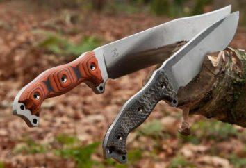 Folding faca de caça: como escolher? equipamento para caça