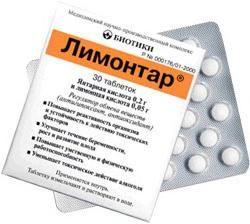 """Tabletki """"Limontar"""": instrukcje użytkowania"""