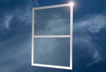 mosquitera para ventanas de plástico: la instalación