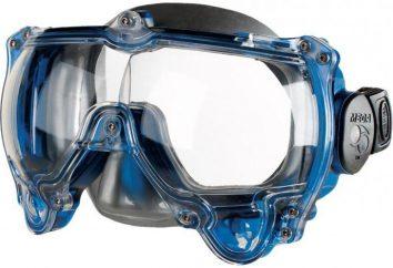 Maska do pływania pod wodą dla dzieci i dorosłych