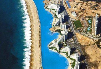 El nombre y la historia de las piscinas más grandes en el mundo