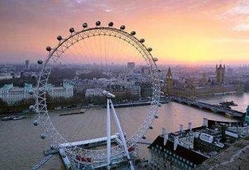 Attractions Londres (en anglais). Que vous pouvez visiter, une fois la capitale du Royaume-Uni