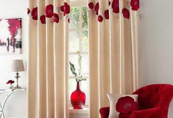 Fazer cortinas de janela – a parte mais importante de qualquer interior