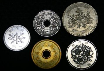 Moedas japonês título, descrição e preço