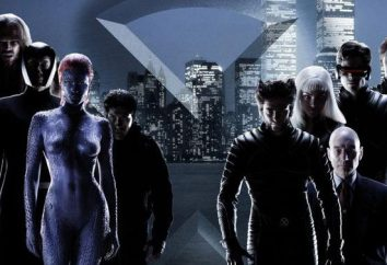 """In einem Chronologie Uhr Filme """"X-Men"""". """"X-Men"""" Chronologie"""