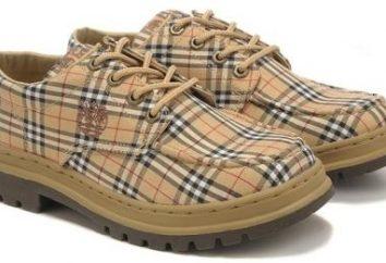 chaussures Tableau des tailles pour les hommes