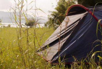 Onde para descansar nos subúrbios e as tendas (foto)?