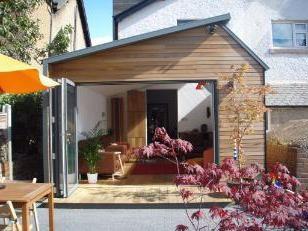Extension à la maison du cadre (photo)