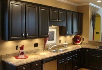 Die Auswahl eines Bildes in die Küche