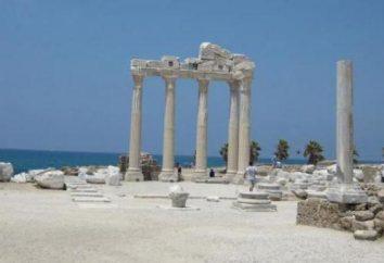 Vacances en Turquie. Hôtels à Side 5 étoiles 1 ligne. Notes, commentaires, descriptions et commentaires
