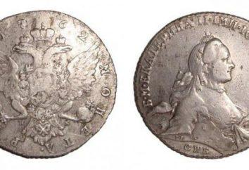 Les pièces d'argent de la Russie tsariste et le coût approximatif. photo