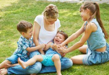 Crianças de diferentes casamentos: ensinado por uma situação tão difícil?