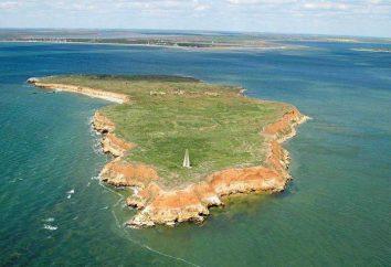 Berezan Insel im Schwarzen Meer